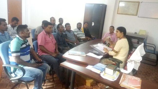 लोकसभा चुनाव को लेकर एसडीओ ने विभिन्न राजनितिक दल के प्रतिनिधियों के साथ की बैठक