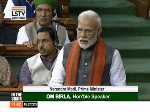 किसी को प्रधानमंत्री बनना था और देश का बंटवारा कर दिया गया : नरेंद्र मोदी
