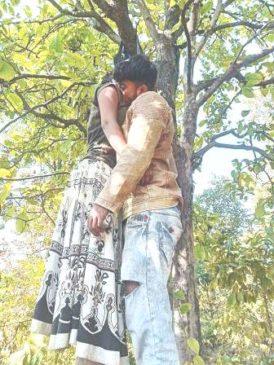 टंडवा के जंगल में युवक-युवती का शव झुलता हुआ मिला