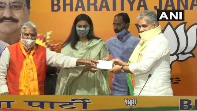 अर्जुन पुरस्कार से सम्मानित श्रेयसी सिंह भाजपा में हुईं शामिल, बांका या जमुई से लड़ सकती हैं चुनाव