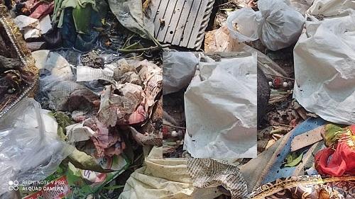 डीबडीह पुल के पास मिला कटा हुआ सिर, इलाके में फैला दहशत