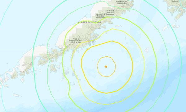 अमेरिका के अलास्का में 8.2 तीव्रता के भूकंप के झटके, सूनामी की चेतावनी जारी
