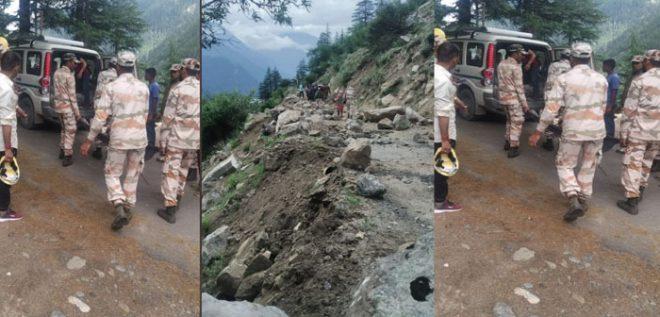 हिमाचल प्रदेश की सांगला घाटी में भूस्खलन, दिल्ली-एनसीआर के नौ पर्यटकों की मौत