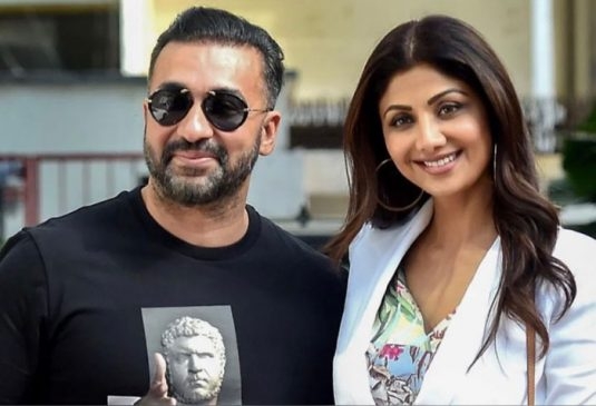 #RajKundraArrest पोर्न फिल्म बनाने के आरोप में अभिनेत्री शिल्पा शेट्टी के पति राज कुंद्रा गिरफ्तार