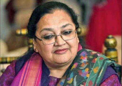 कांग्रेस नेता सलमान खुर्शीद की पत्नी लुईस खुर्शीद के खिलाफ अदालत से गैर जमानती वारंट जारी