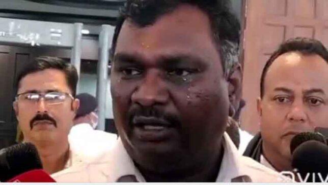 झारखंड : विधानसभा परिसर में फूट-फूट कर रोए भाजपा विधायक अमर कुमार बाउरी, बोले – मैं दलित हूं, इसलिए…