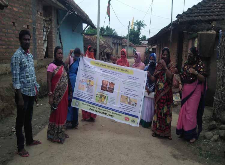 झारखंड में कालाजार उन्मूलन अभियान जारी, पाकुड़ ने कोरोना संकट के बीच लोगों को किया जागरूक, सभी चिह्नत गांवों में छिड़काव