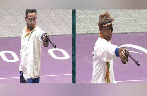 टोकियो पैरालिंपिक : शूटिंग में मनीष नरवाल ने स्वर्ण और सिंहराज ने रजत पदक जीता, कृष्णा नागर को भी मिला गोल्ड