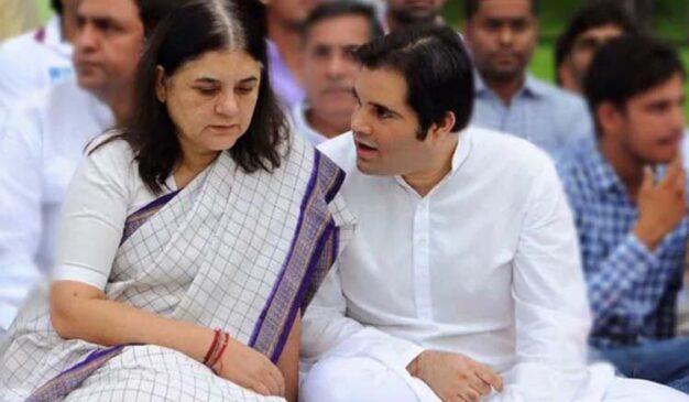 BJP की कार्यकारिणी से मेनका गांधी व वरुण गांधी किए गए बाहर, आडवाणी-जोशी अब भी मौजूद
